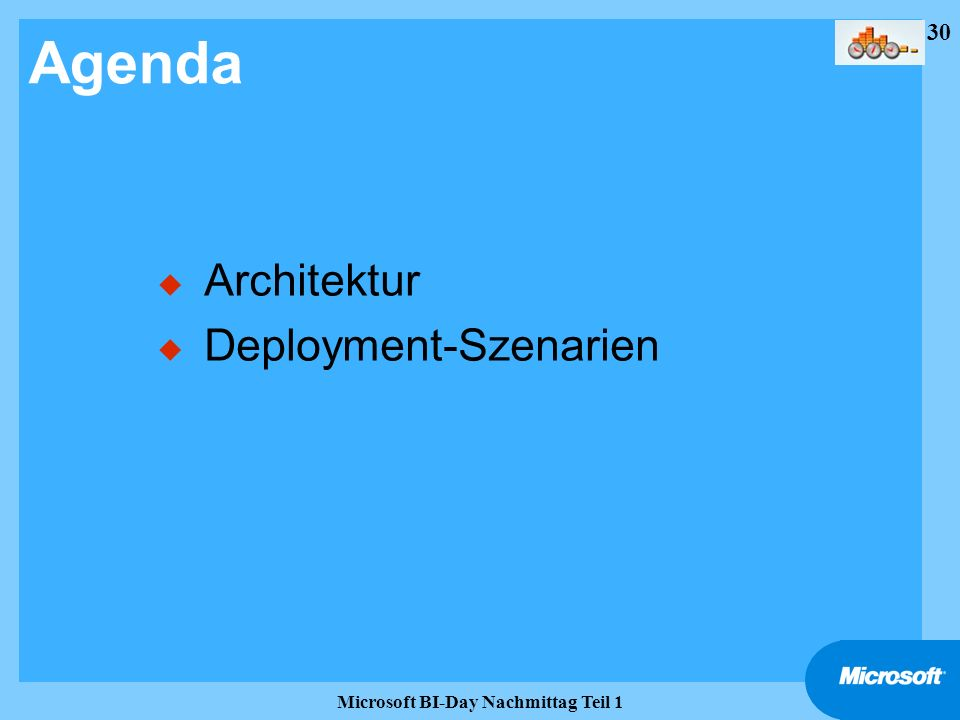 Microsoft BI-Day Nachmittag Teil 1