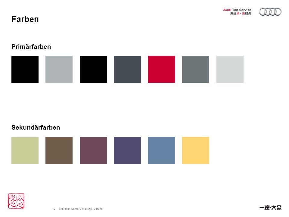 Farben Primärfarben Sekundärfarben