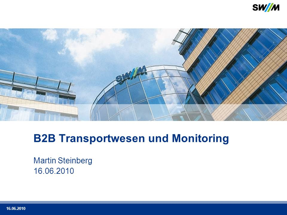 B2B Transportwesen und Monitoring