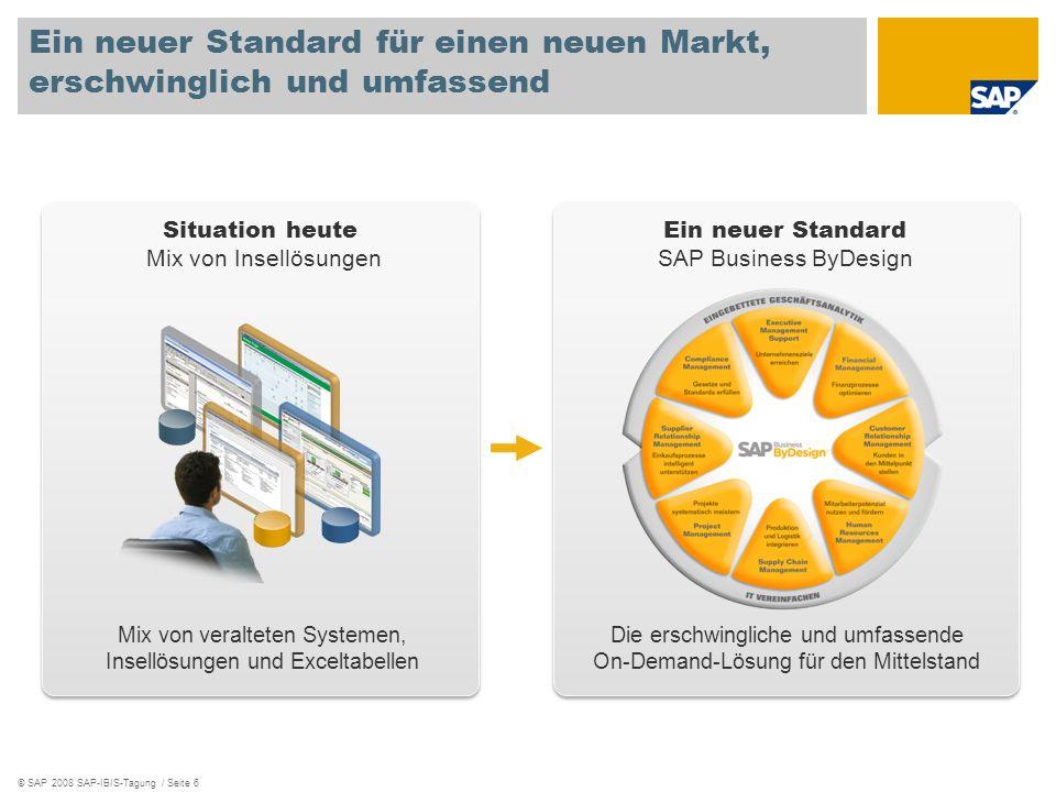 Ein neuer Standard für einen neuen Markt, erschwinglich und umfassend