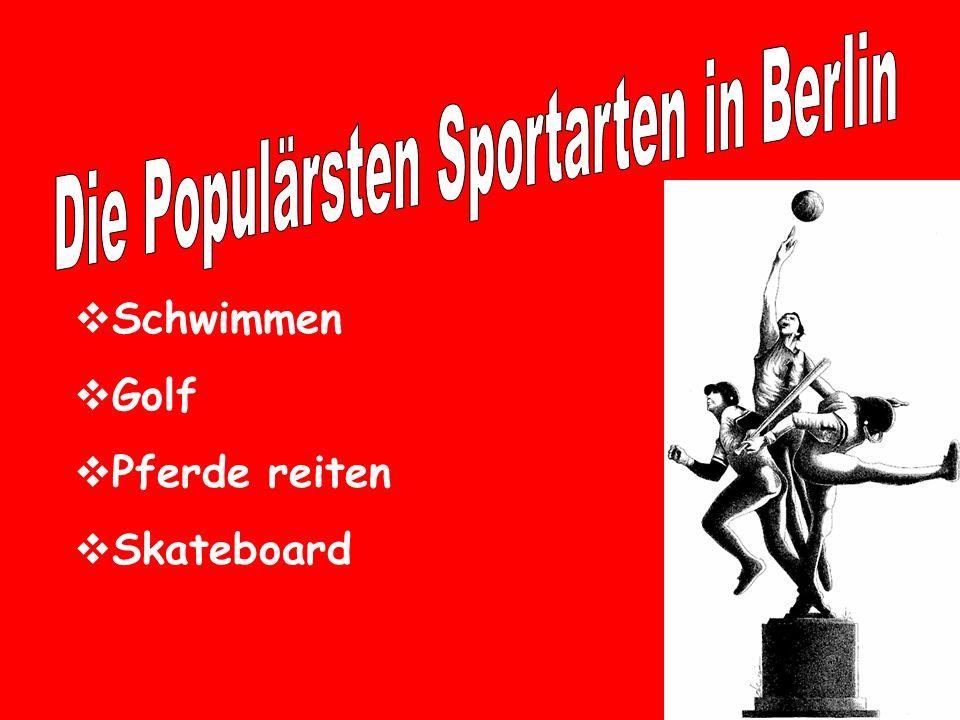 Die Populärsten Sportarten in Berlin