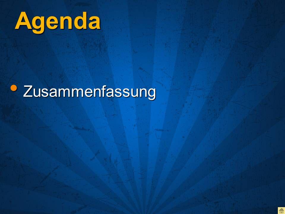 Agenda Zusammenfassung