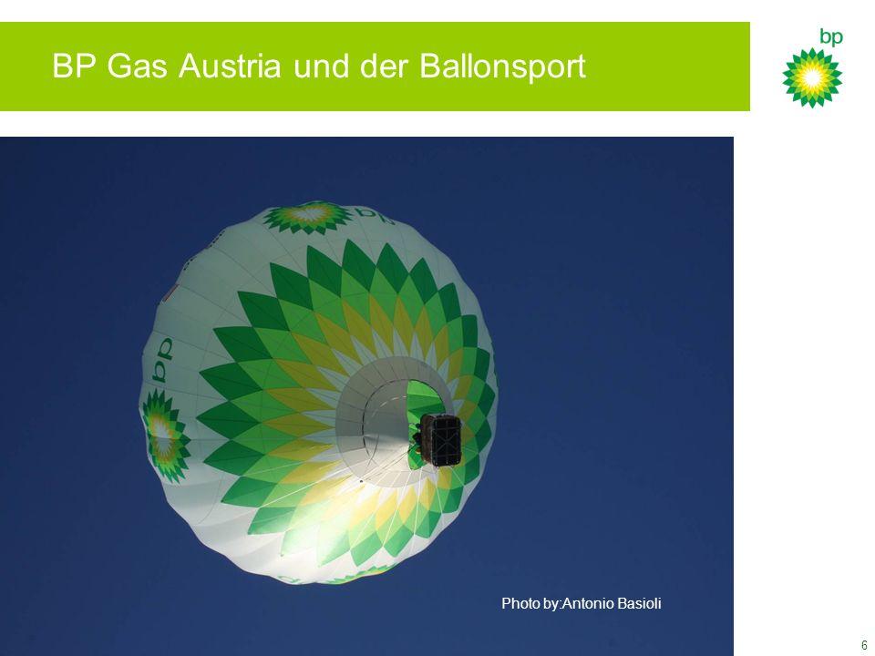 BP Gas Austria und der Ballonsport
