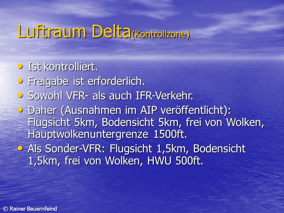 Luftraum Delta(Kontrollzone)