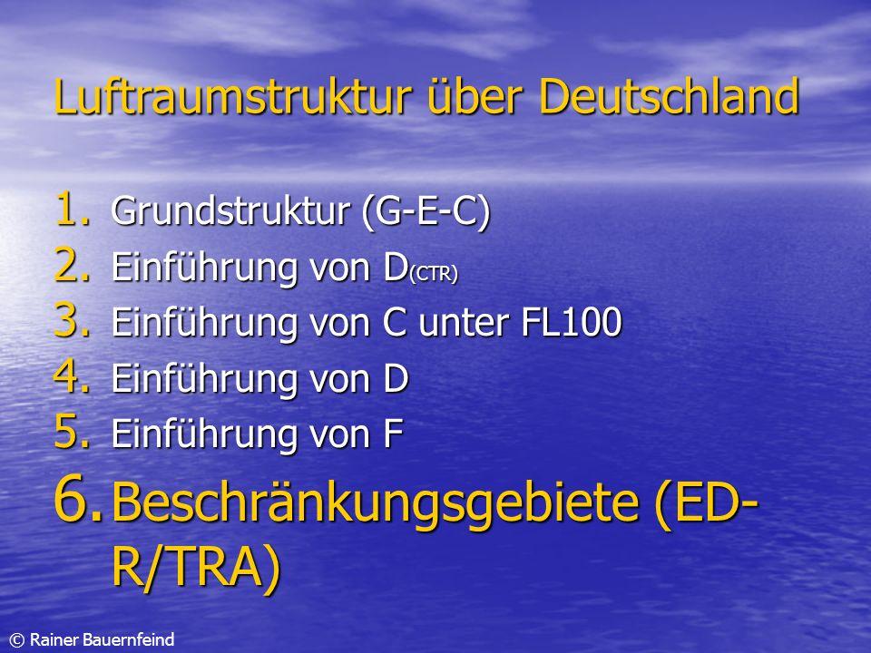Beschränkungsgebiete (ED-R/TRA)