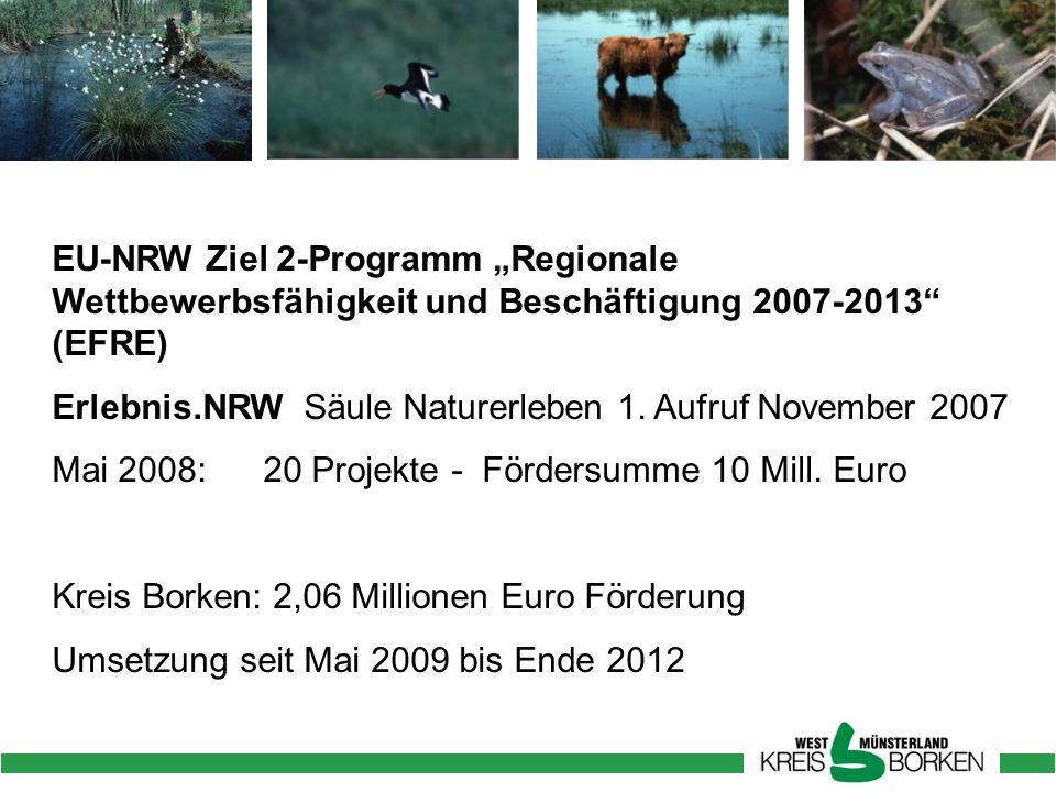 """EU-NRW Ziel 2-Programm """"Regionale Wettbewerbsfähigkeit und Beschäftigung 2007-2013 (EFRE)"""