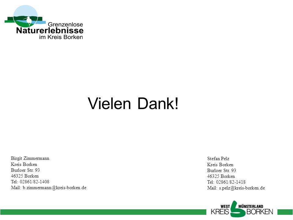 Vielen Dank! Birgit Zimmermann Kreis Borken Burloer Str. 93