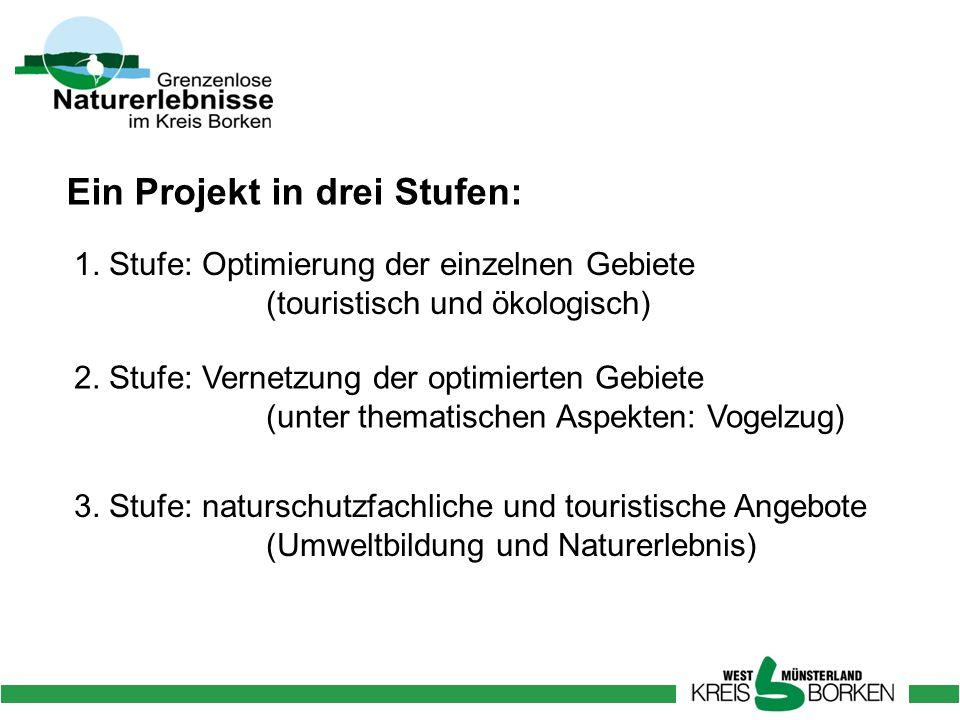 Ein Projekt in drei Stufen: