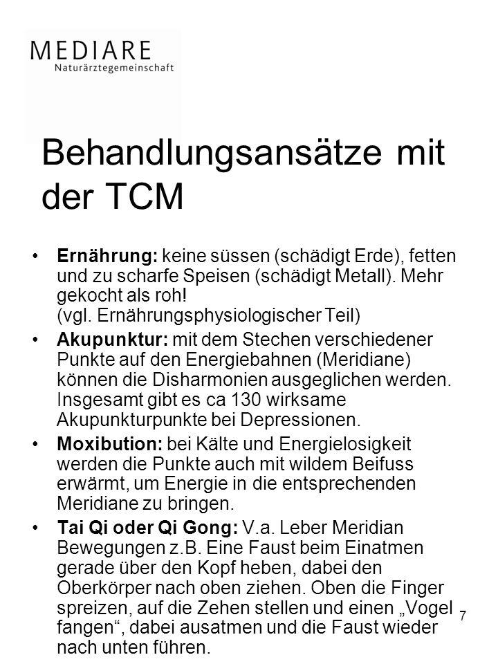 Behandlungsansätze mit der TCM