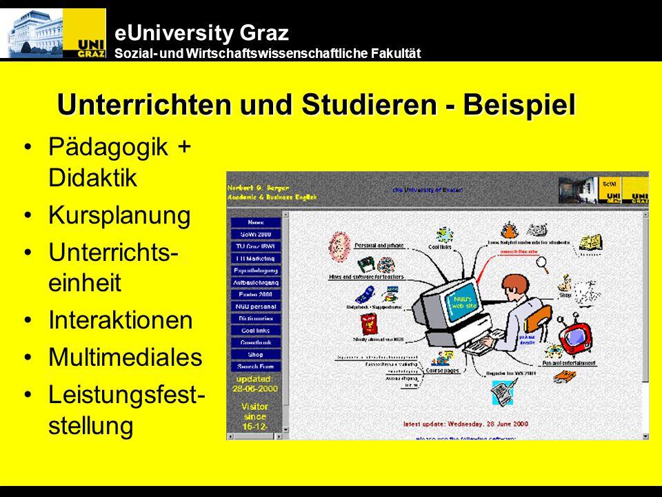 Unterrichten und Studieren - Beispiel