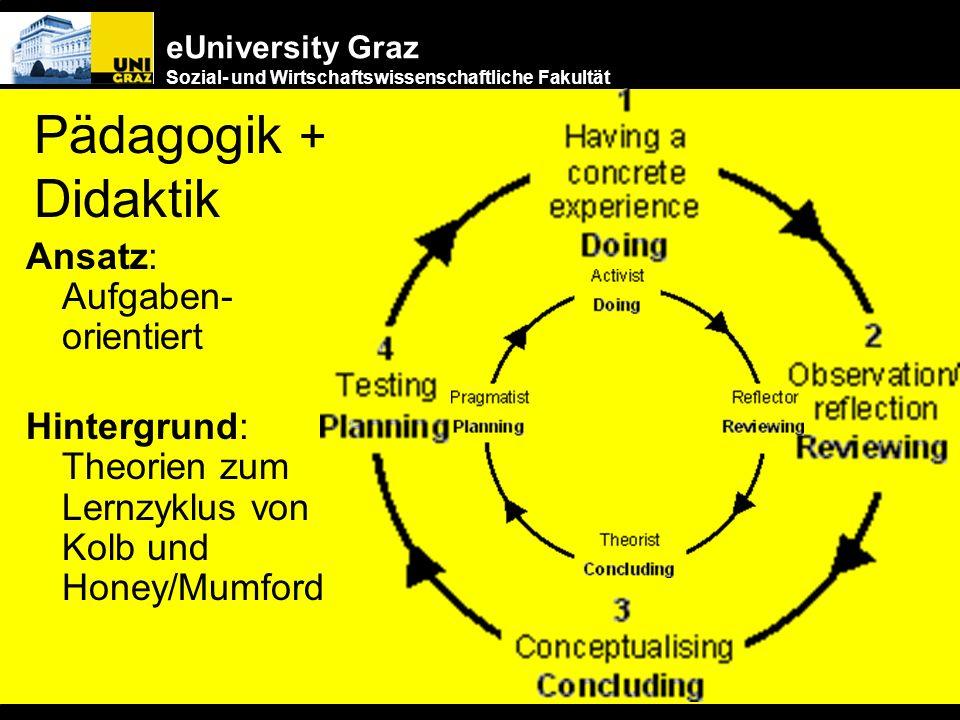 Pädagogik + Didaktik Ansatz: Aufgaben- orientiert