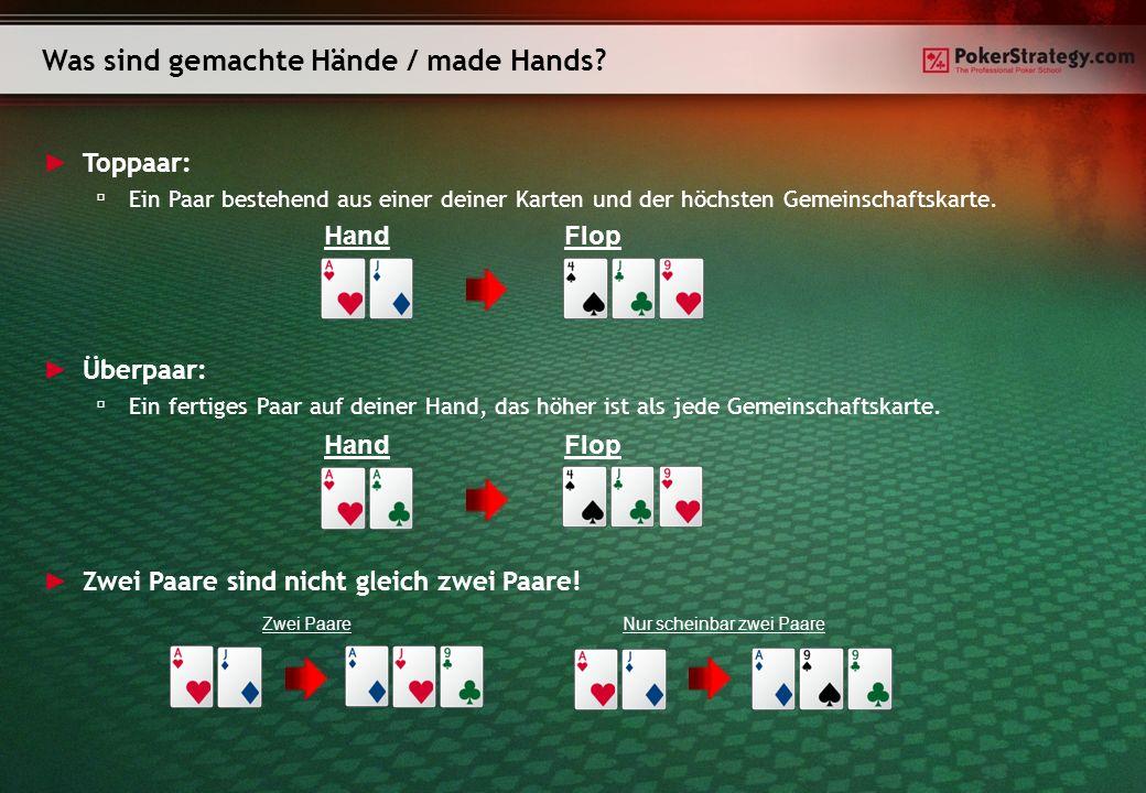 Was sind gemachte Hände / made Hands
