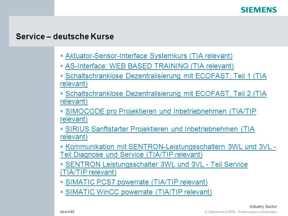 Service – deutsche Kurse