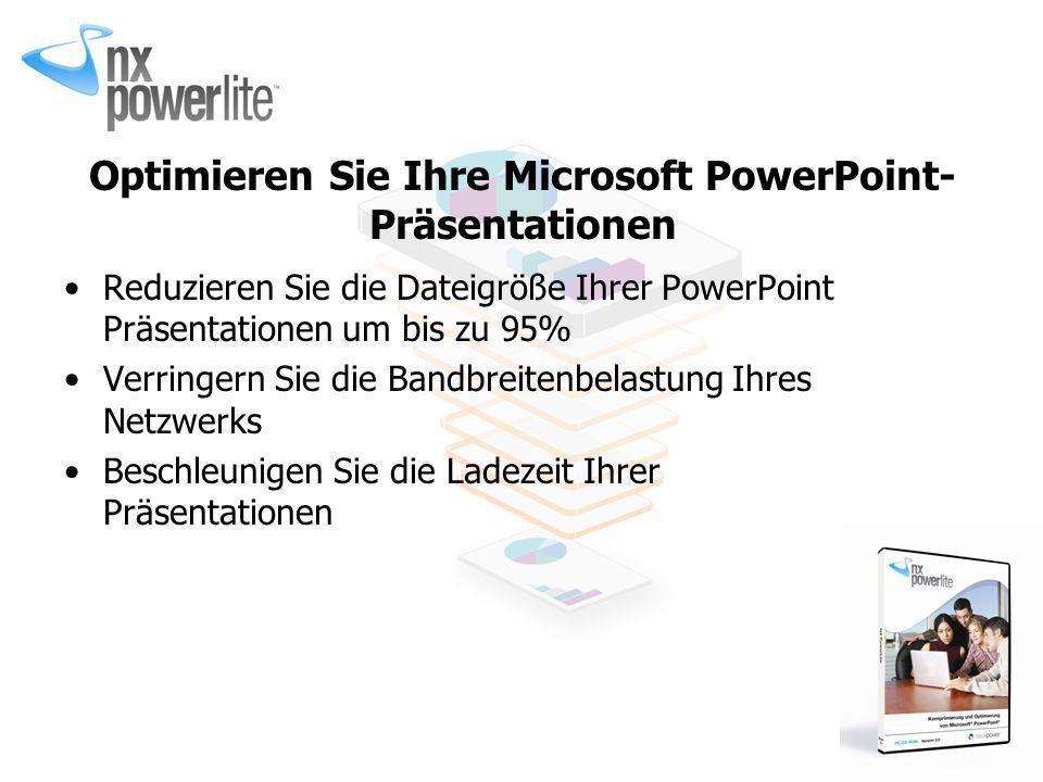 Optimieren Sie Ihre Microsoft PowerPoint-Präsentationen