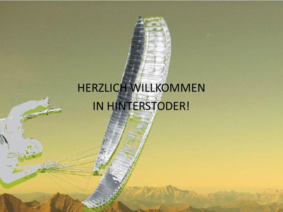 HERZLICH WILLKOMMEN IN HINTERSTODER!