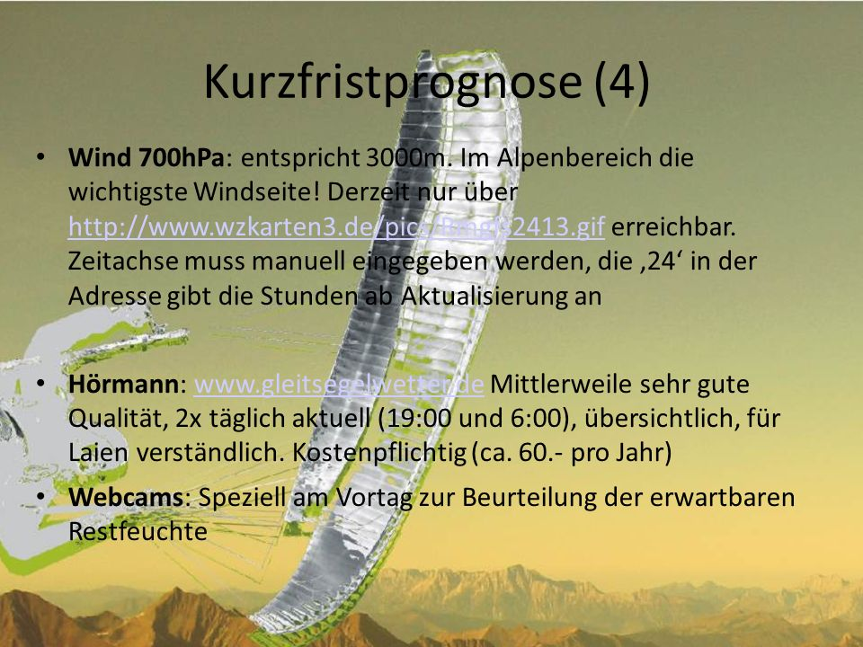 Kurzfristprognose (4)