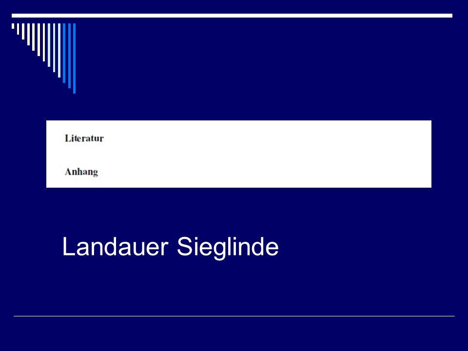 Landauer Sieglinde