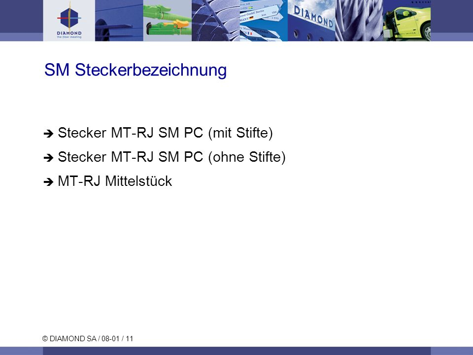 SM Steckerbezeichnung
