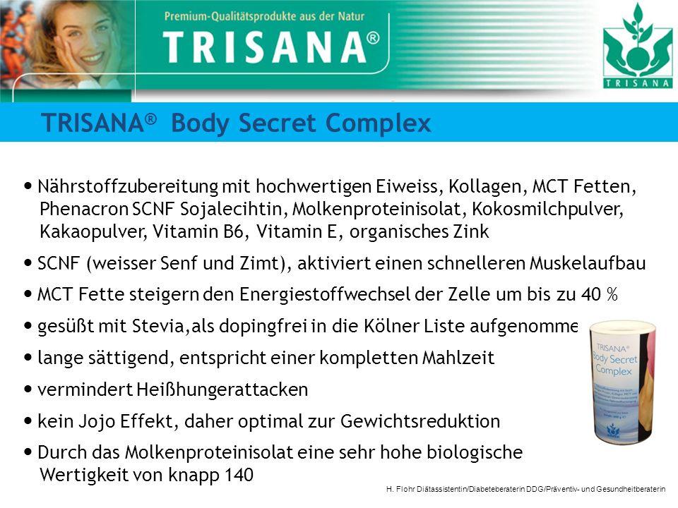 TRISANA® Body Secret Complex