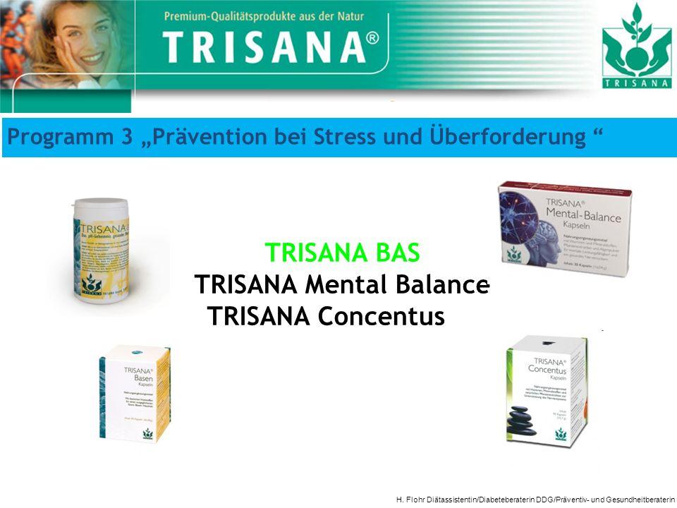 TRISANA Mental Balance