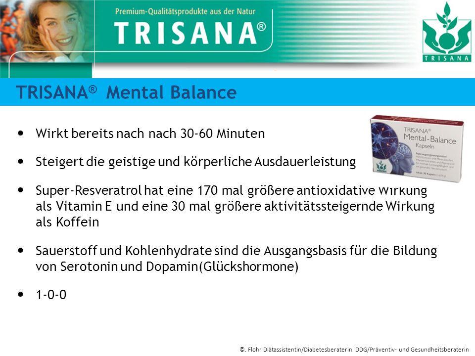 TRISANA® Mental Balance