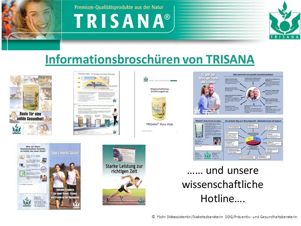 Informationsbroschüren von TRISANA