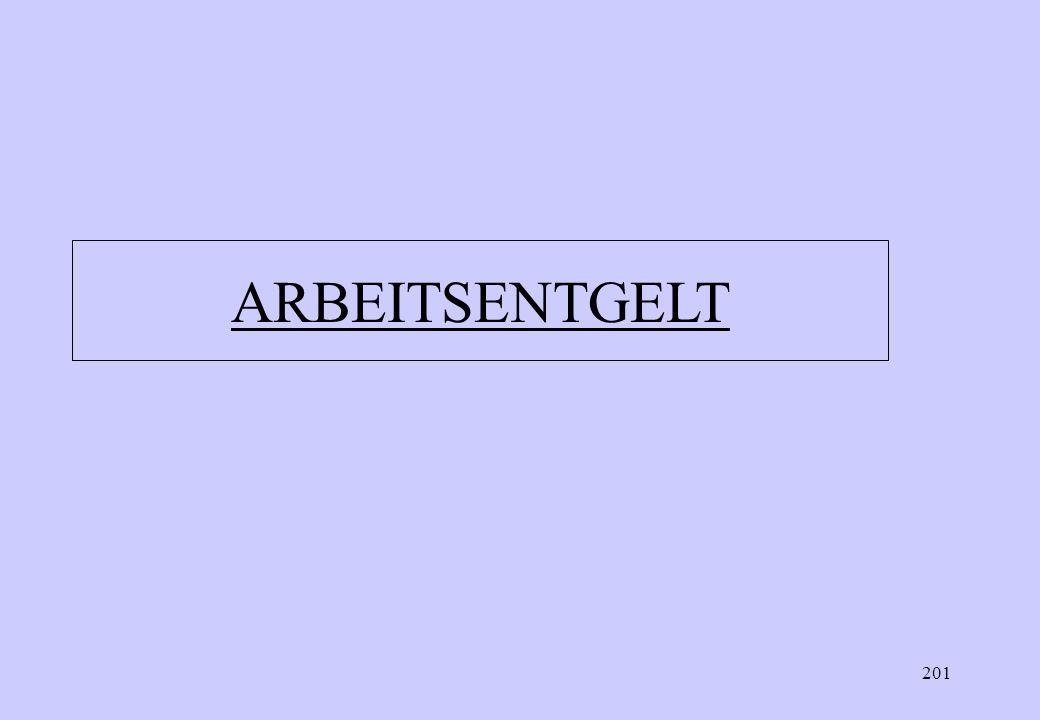 ARBEITSENTGELT