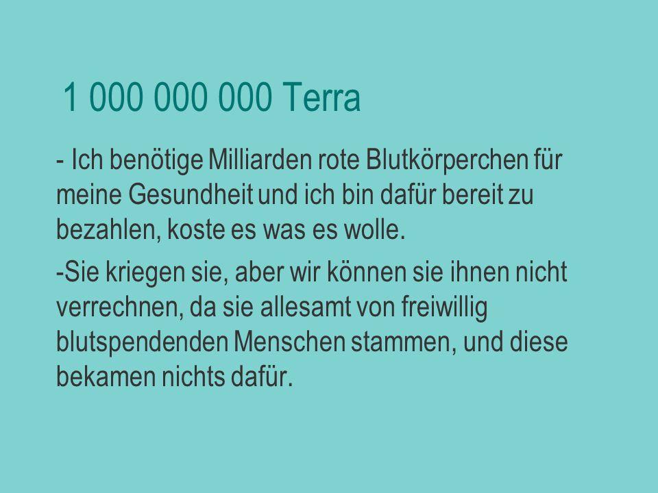 biljezka 1 000 000 000 Terra.