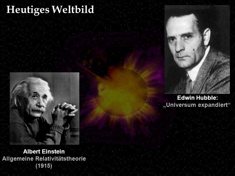 """""""Universum expandiert Allgemeine Relativitätstheorie"""