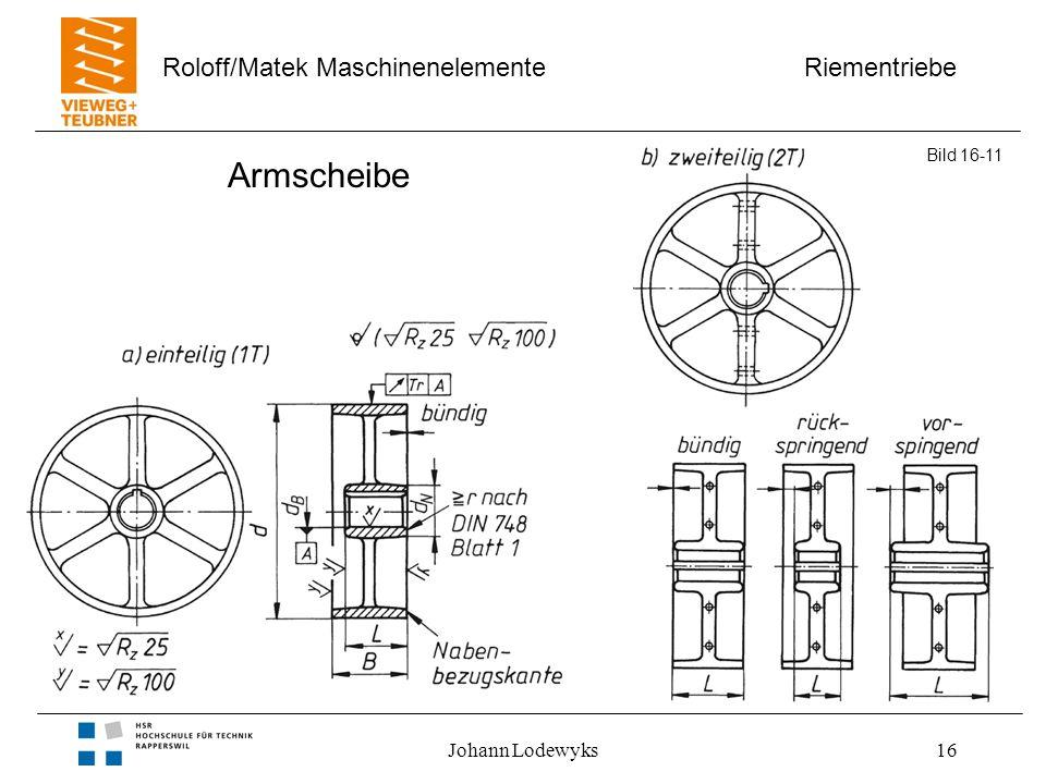 Armscheibe Bild 16-11 Johann Lodewyks