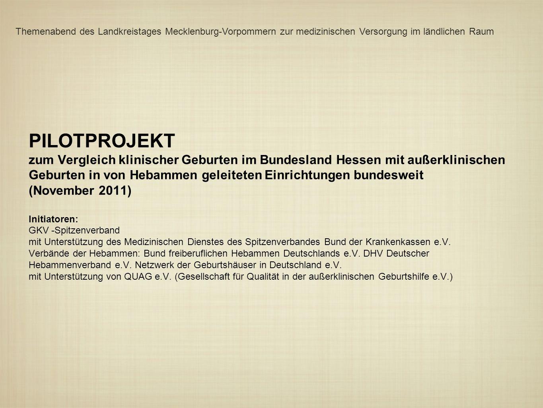 Themenabend des Landkreistages Mecklenburg-Vorpommern zur medizinischen Versorgung im ländlichen Raum