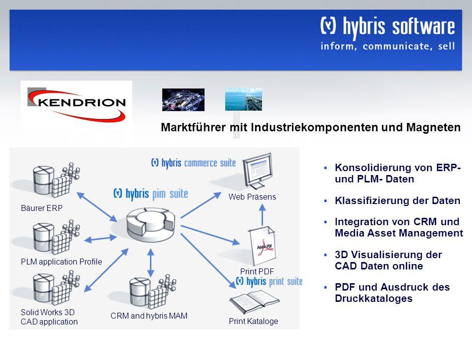Marktführer mit Industriekomponenten und Magneten