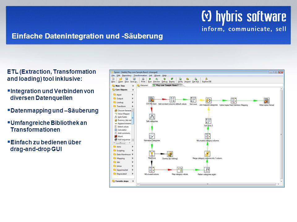 Einfache Datenintegration und -Säuberung