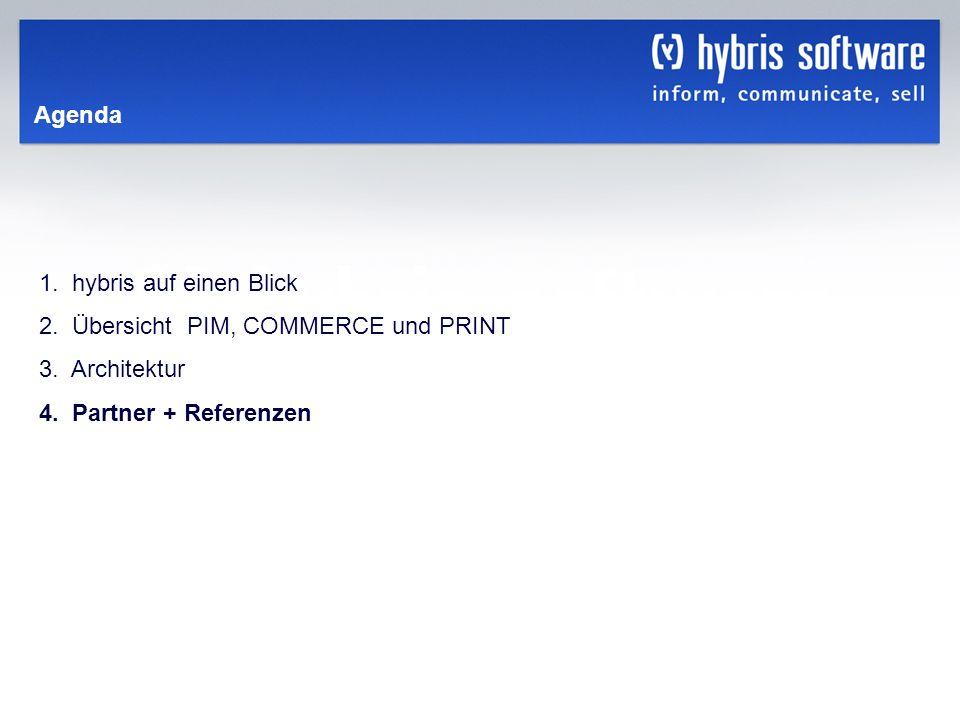 Agenda1. hybris auf einen Blick. 2. Übersicht PIM, COMMERCE und PRINT.