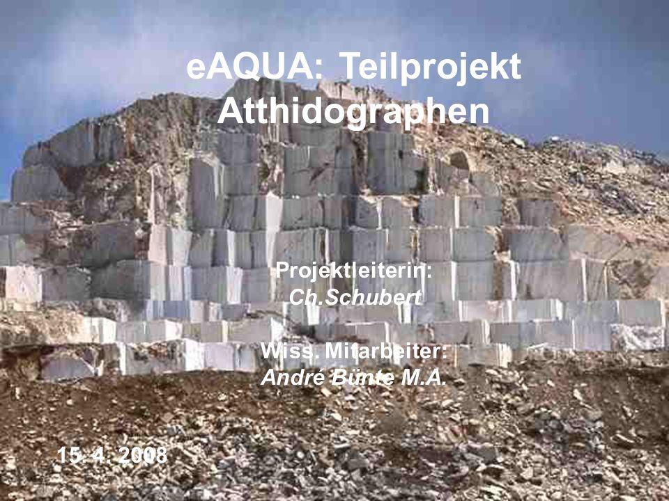 eAQUA: Teilprojekt Atthidographen