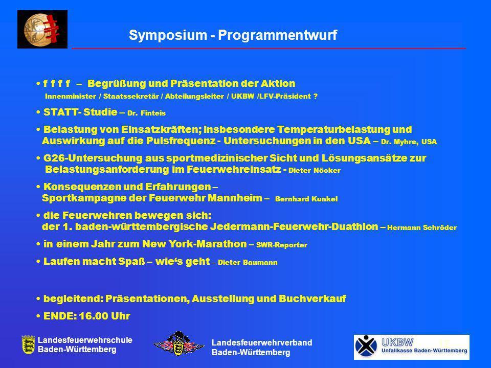Symposium - Programmentwurf