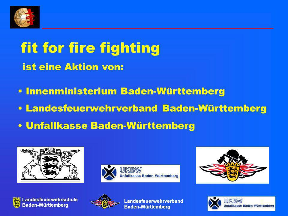 fit for fire fighting ist eine Aktion von: