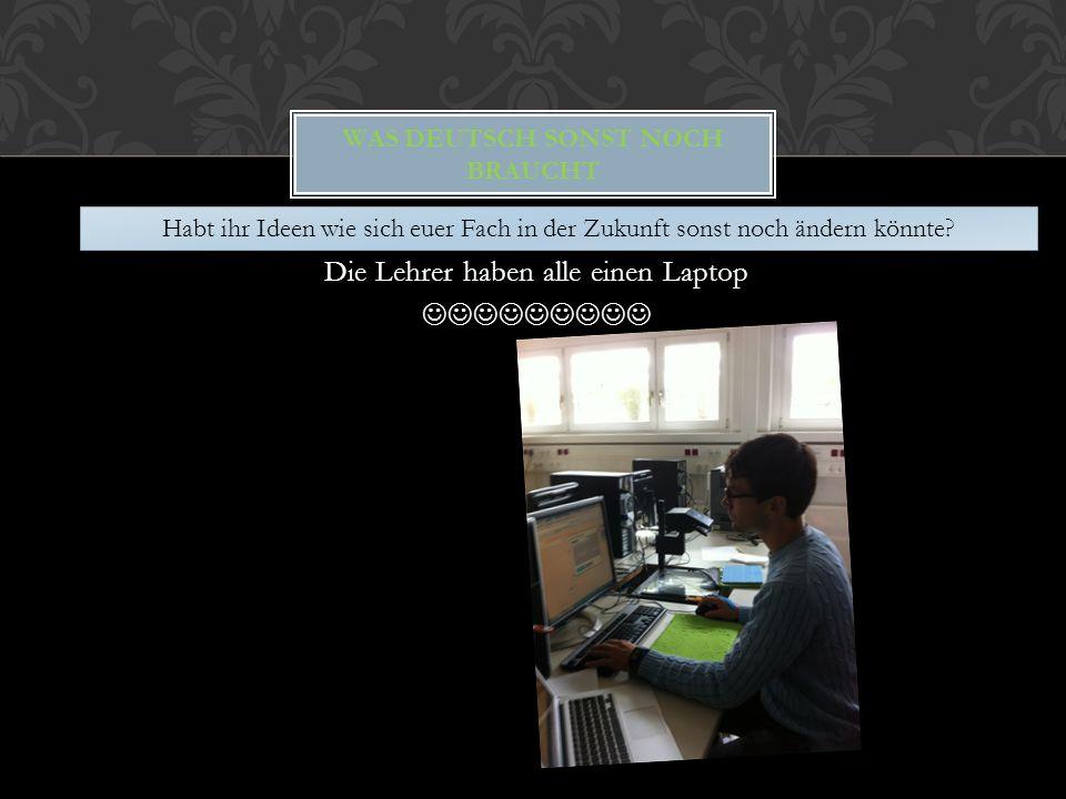 Was Deutsch sonst noch braucht