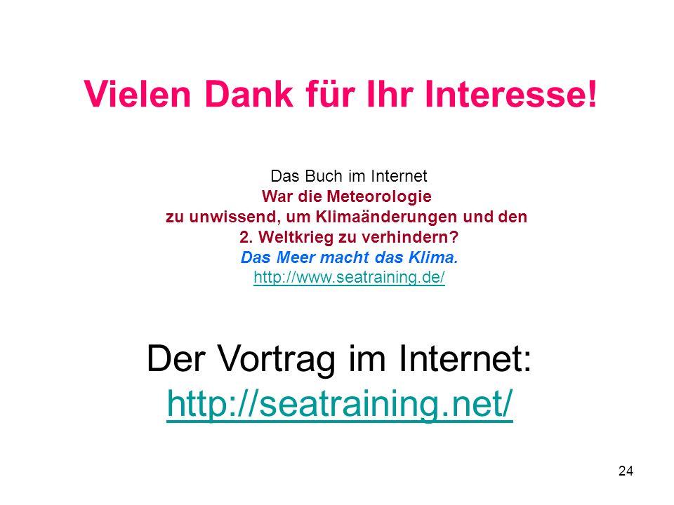 Der Vortrag im Internet: