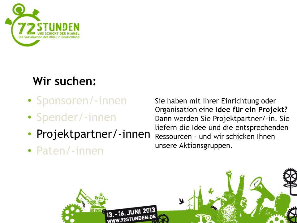 Projektpartner/-innen Paten/-innen