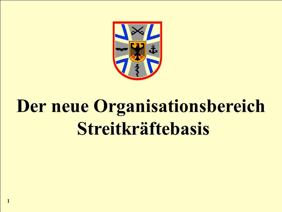 Der neue Organisationsbereich