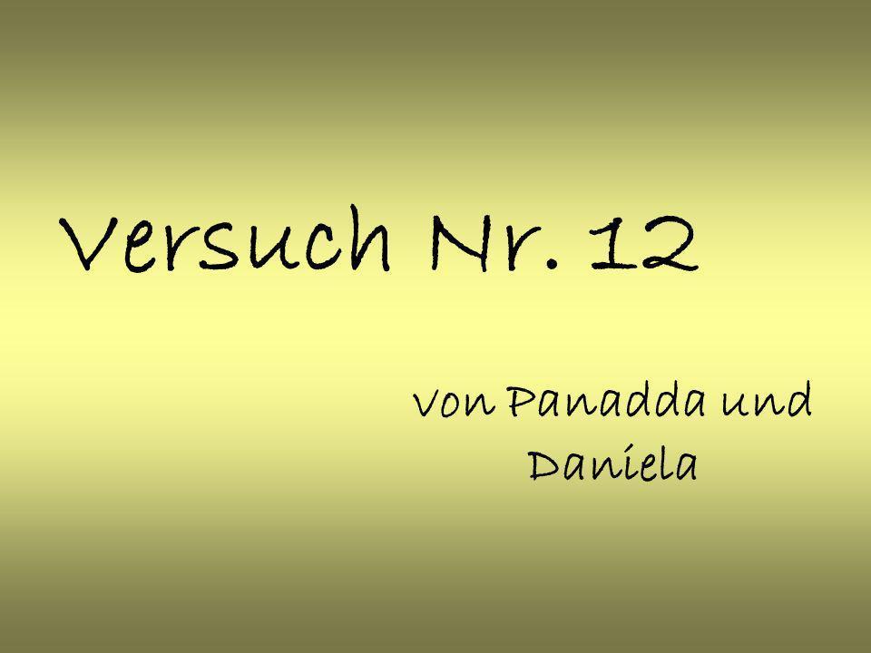 von Panadda und Daniela