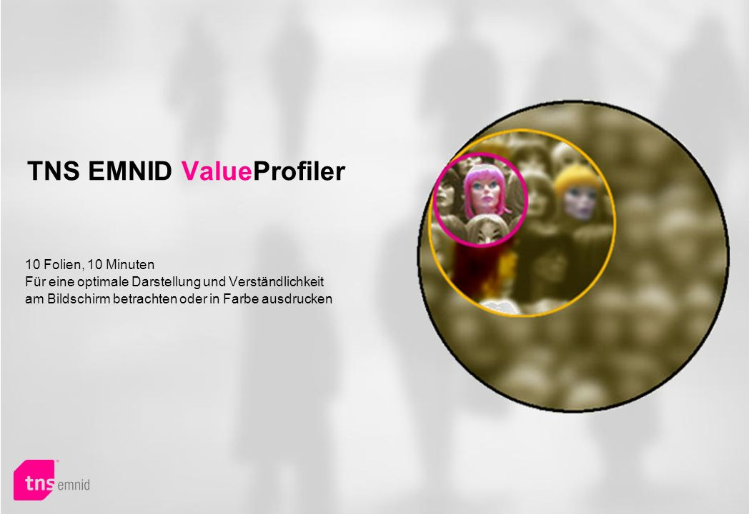 TNS EMNID ValueProfiler