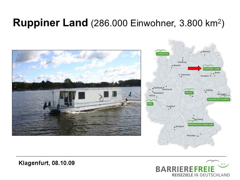 Ruppiner Land (286.000 Einwohner, 3.800 km2)