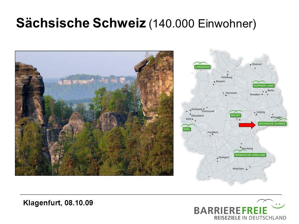 Sächsische Schweiz (140.000 Einwohner)