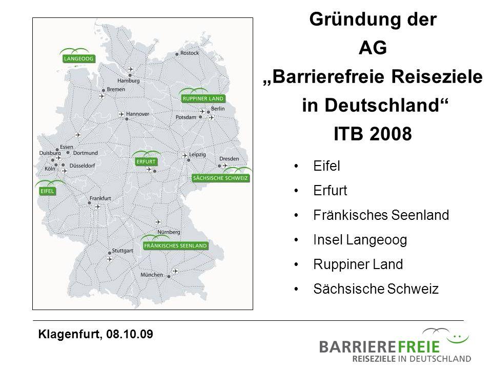"""""""Barrierefreie Reiseziele"""