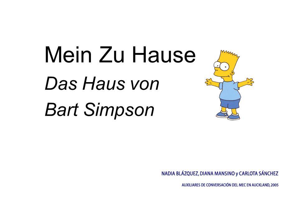 Mein Zu Hause Das Haus von Bart Simpson