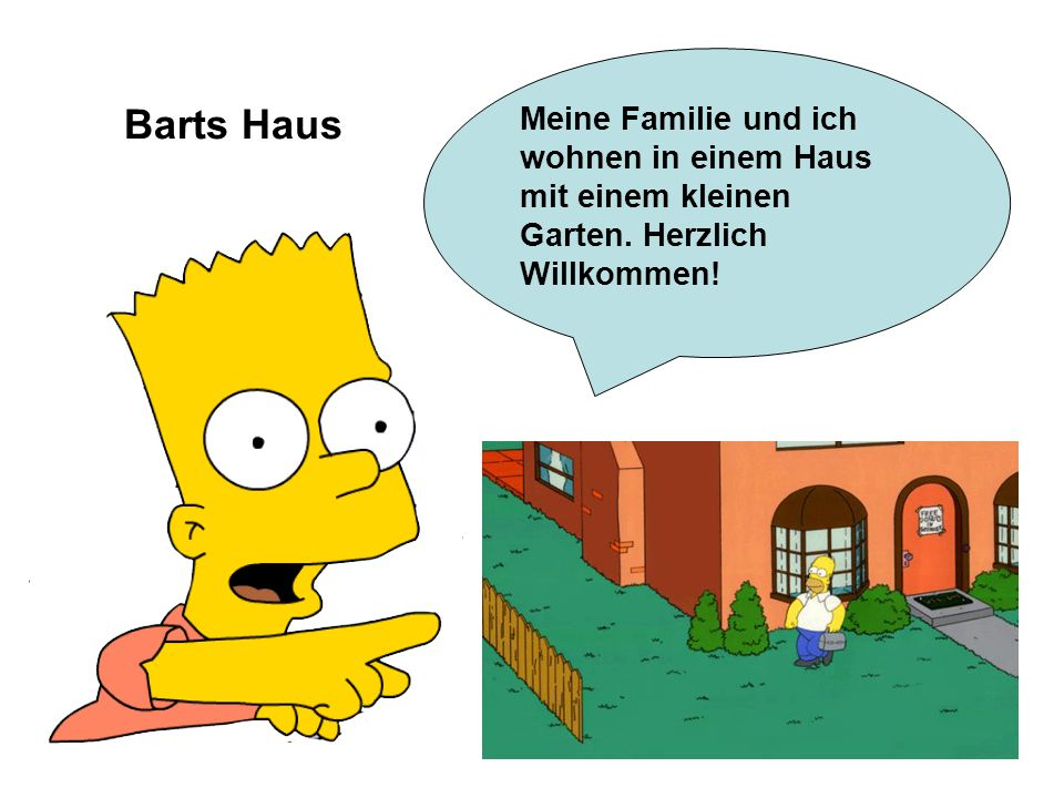 mein zu hause das haus von bart simpson ppt video online herunterladen. Black Bedroom Furniture Sets. Home Design Ideas