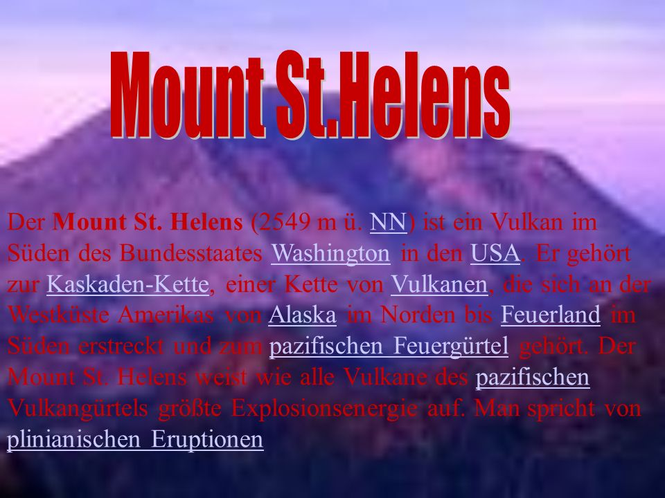 Mount St.Helens
