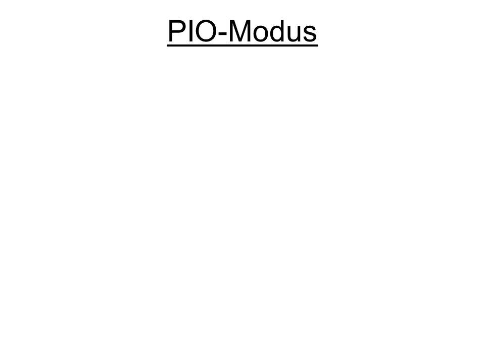 PIO-Modus